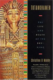 Cover of: Tutankhamen by Christine El Mahdy