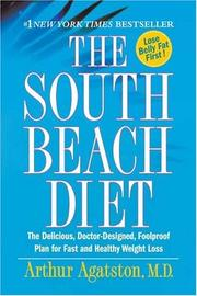 Cover of: The South Beach diet by Arthur Agatston