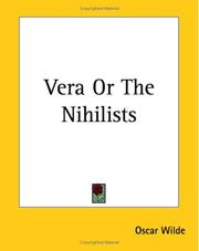 Cover of: Vera or the Nihilists by Oscar Wilde