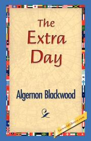 Cover of: The Extra Day by Algernon Blackwood