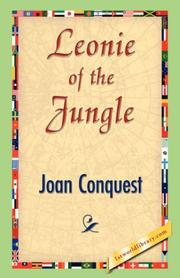 Cover of: Leonie of the Jungle by Joan Conquest