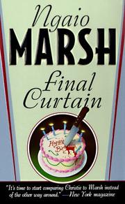 Cover of: Final Curtain by Ngaio Marsh