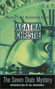 Cover of: The Seven Dials Mystery by Agatha Christie