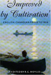 Cover of: Improved by Cultivation by R. G. Moyles