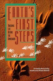 Cover of: Earth's first steps by Jerry MacDonald