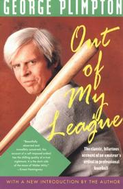 Cover of: Out of my league by George Plimpton