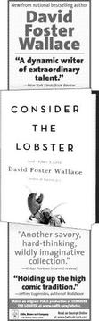 Cover of: Consider the lobster, and other essays by David Foster Wallace