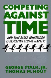 Cover of: Competing against time by George Stalk