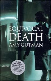 Cover of: Equivocal Death by Amy Gutman