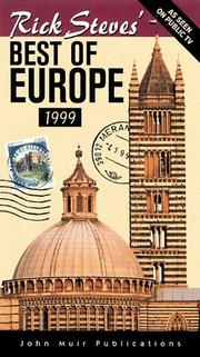 Cover of: Rick Steves' Best of Europe (Serial) by Rick Steves