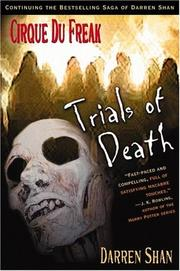 Cover of: Trials of death by Darren Shan