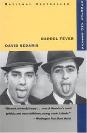 Cover of: Barrel Fever by David Sedaris, David Sedaris