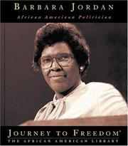 Cover of: Barbara Jordan by Joseph D. McNair