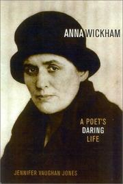 Cover of: Anna Wickham by Jennifer Vaughan Jones