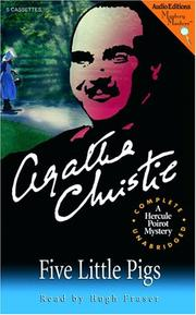 Cover of: Five little pigs by Agatha Christie