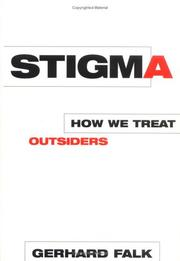 Cover of: Stigma by Gerhard Falk