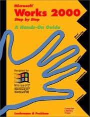 Cover of: Microsoft Works 2000 by Arthur Luehrmann