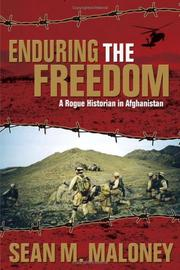 Cover of: Enduring the freedom by Sean M. Maloney