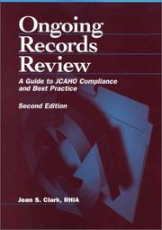 Cover of: Ongoing records review by Jean S. Clark