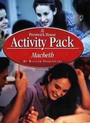 Cover of: Macbeth Activity Packs by William Shakespeare