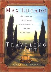 Traveling Light Address Book Max Lucado
