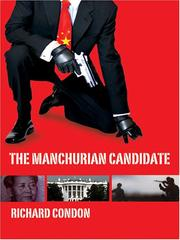 Cover of: The Manchurian candidate by Richard Condon