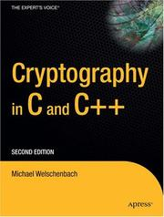 Cover of: Kryptographie in C und C++ by Michael Welschenbach
