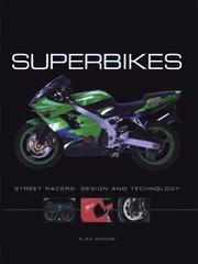 Cover of: Superbikes: Street Racers by Alan Dowds