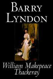 Cover of: Barry Lyndon by William Makepeace Thackeray