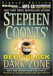 Cover of: Deep Black Dark Zone (NSA) by Stephen Coonts