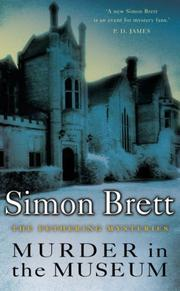 Cover of: Murder in the Museum by Simon Brett