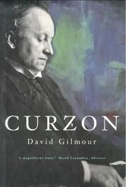 Cover of: Curzon by David Gilmour