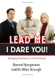 Cover of: Lead Me-I Dare You! by Sherrel Bergmann