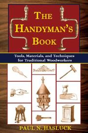 Cover of: The Handyman's Book by Paul N. Hasluck