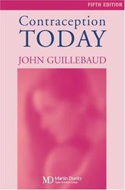 Cover of: Contraception Today by John Guillebaud