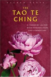 Cover of: The Tao Te Ching (Sacred Texts) by Laozi