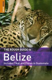 Cover of: The Rough Guide to Belize 4 by Rough Guides