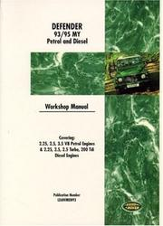 Land Rover Defender 1993-95 WSM (Workshop Manual Land Rover) Brooklands Books Ltd