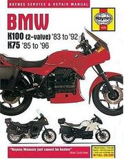 Cover of: Bmw K100 & 75 Owners Workshop Manual (K7585-8) by John Harold Haynes