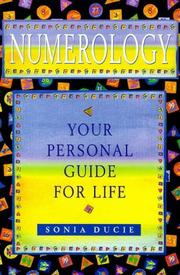 Cover of: Numerology by Sonia Ducie