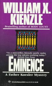 Cover of: Eminence by William X. Kienzle