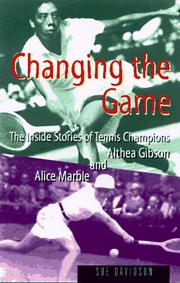Cover of: Changing the game by Sue Davidson