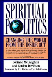 Cover of: Spiritual politics by Corinne McLaughlin