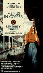 Cover of: Venus in Copper by Lindsey Davis