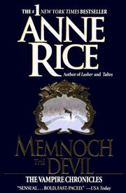 Cover of: Memnoch the Devil by Anne Rice