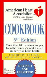Cover of: American Heart Association Cookbook by American Heart Association