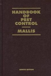 Cover of: Handbook of pest control by Arnold Mallis