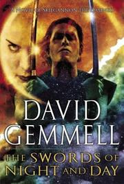 Cover of: The swords of night and day by David A. Gemmell