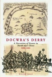 Cover of: Docwra&#39;s Derry by Henry Docwra