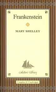 Cover of: Frankenstein by Mary Shelley